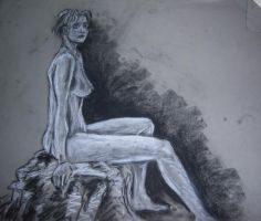 COLLEGE LIFE DRAWING 7 by phymns