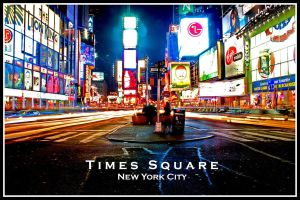 Times Square by Strahan-Bad