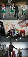 High School of the Dead photoshoot: 1 by Blue-Fayt
