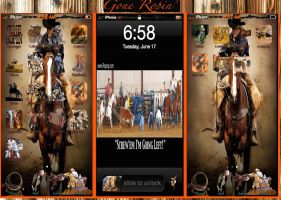 Gone Ropin iphone 5 Theme by Tjo