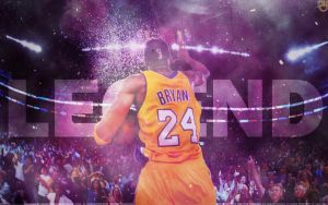 Kobe Bryant Legend Wallpaper by Angelmaker666