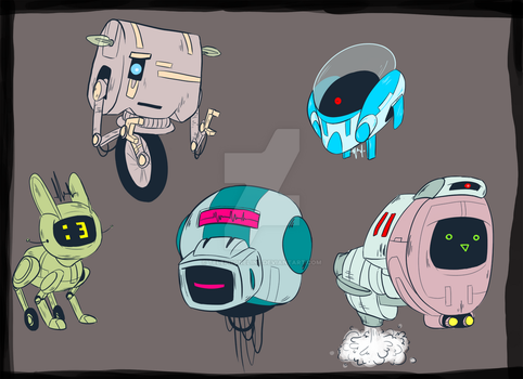 Robot-adopts1 by Telephoneline