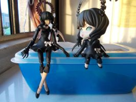 FIGMA and Nendoroid Dead Masters 1 by ArthurT2013