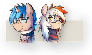 Glasses by Keponii