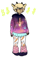 [closed] Galaxy Sweater Adoptable by sorrysales