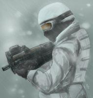 Tundra Soldier by RussellLim