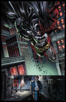 Superman Batman 86 p1 by BlondTheColorist