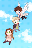 SPN-flight by siruphial