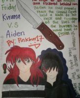 Kurama VS Aiden by Pinkbun17