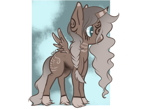 Pony Adopt {CLOSED} Clear Soul by BetterthanaBase