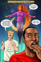 week 127 Eeeeeeevil Starfire! by StevenHoward