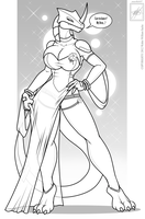 Angela-45's dress by wsache007