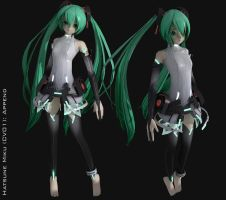 Hatsune Miku Append 3D by XenoAisam