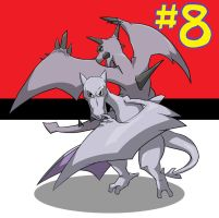 My Top 10 Pokemon: #8 AERODACTYL by the-real-Payne