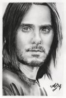 Jared Leto IV by violintrick