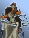 Lady Justitia by Vyoma