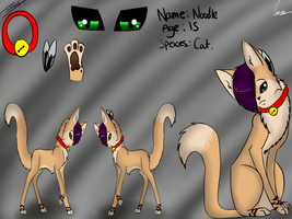 Noodle ref sheet by PhsycoticMutt