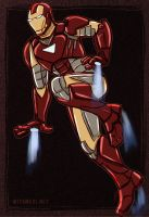 Iron Man by Greykitty