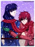 Yu-chan, it's snowing by Me-Unlucky-Girl
