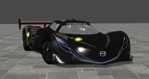 2008 Mazda Furai Concept Car For XPS by noonenothing