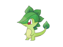 Starter Pokemon Grass Type - Deinleaf by Pokekawaii