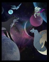 canines in space by MQSdwz35