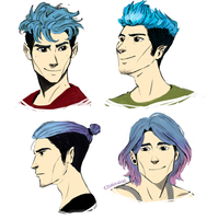 Teddy's hair styles by odairwho