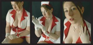 Nurse 13 - Latex Hands by PaulaImperatrix