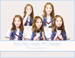 Pack Png Wendy Red Velvet  #14 ~ 5 Render by Suncucheoo