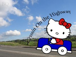 Helly Kitty Driving by Bisquikk