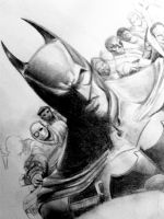 Batman wip by seli-chan