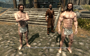 Farkas 'n Vilkas in... Just their loincloth!? by Mediziner