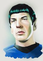 Live Long And Prosper - Leonard Nimoy by Gaohmee
