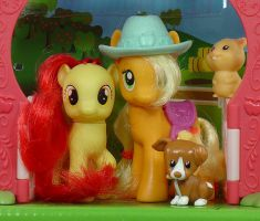 My Little Pony - Apple Family Portrait - toys by Wes-the-Crayon