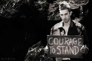 courage to stand by alexcalder