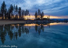 Sand Harbor Sunset150110-5 by MartinGollery
