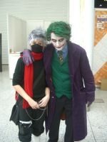 Kakashi meeting the Joker by firecasterx2