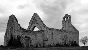 Old church ruin - Vaux sur Aure by UdoChristmann