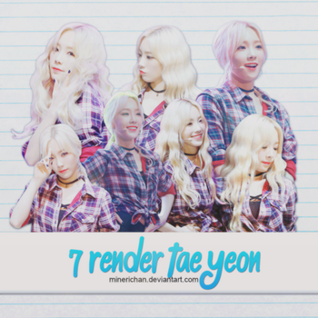 [SHARE FREE] 7 RENDER KIM TAE YEON by Mineri-Chan