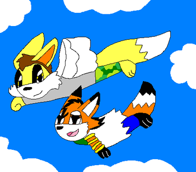 Flying Lesson by cartoonlover307