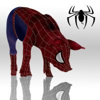 SpiderPig by Solracezz