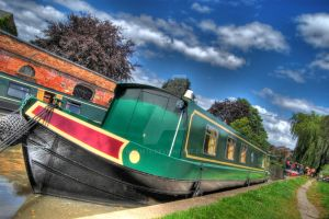 Canal Boat HDR by nat1874