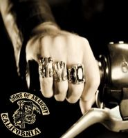 SONS opie hand by shamefhc