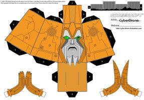 Cubee - Destroyed Unicron Head by CyberDrone