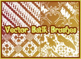 Vector Batik Brushes by Jakafe