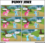 Punny Joke by J-bronyIND