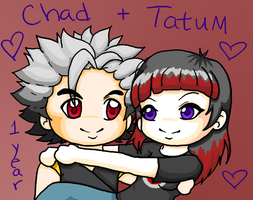 Tatum and Chad by MzMegs