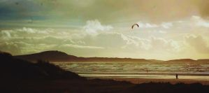 pembrey beach by vicxkyz
