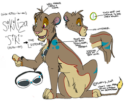 Siki - Feral Reference by SikiSpots