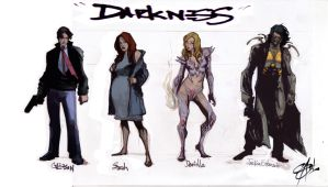 Darkness sketch Line- Up by Shadowgrail